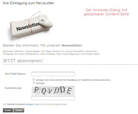 Newsletter-Support