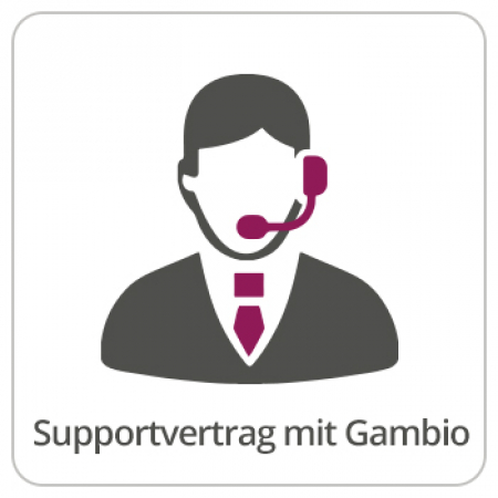 Produktbild Supportvertrag Gambio